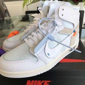 Off white Jordan's